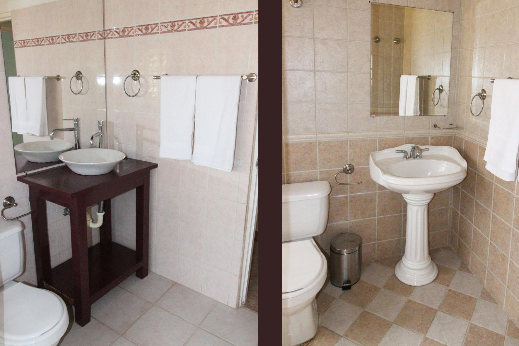 Casa Galpy Bathrooms 1 & 2